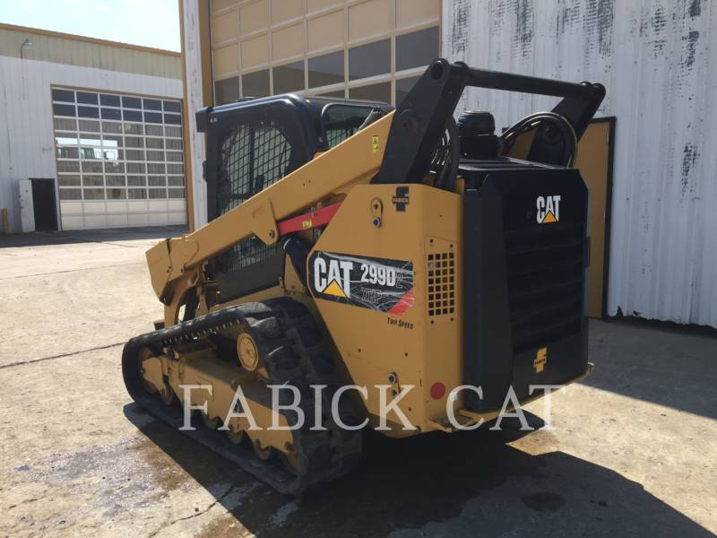 CATERPILLAR CARGADORES MULTITERRENO 299D2 XHP equipment  photo 4