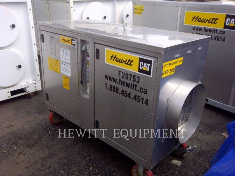 OTHER US MFGRS HVAC: HEATING, VENTILATION, AND AIR CONDITIONING 600 MBH MAKE UP AIR HEATER equipment  photo 2