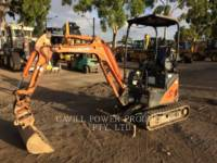 Equipment photo HITACHI ZX17U TRACK EXCAVATORS 1