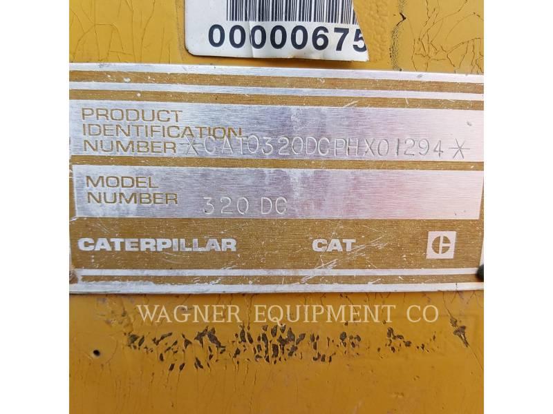 CATERPILLAR トラック油圧ショベル 320DL equipment  photo 5