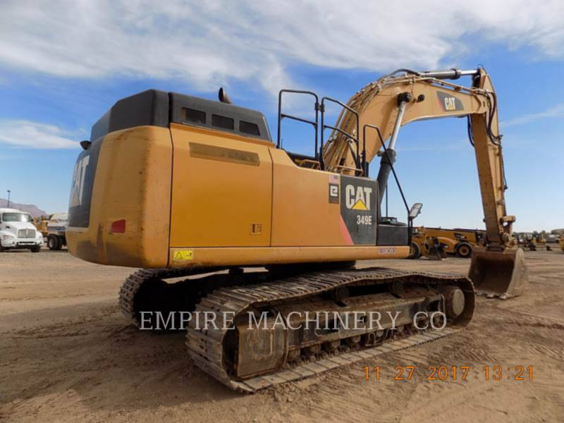 CATERPILLAR トラック油圧ショベル 349EL    P equipment  photo 2