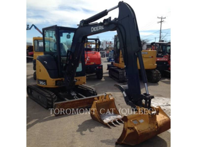 JOHN DEERE EXCAVADORAS DE CADENAS 35G equipment  photo 13