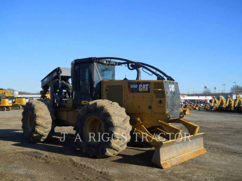 CATERPILLAR 林業 - スキッダ 545D DF equipment  photo 7