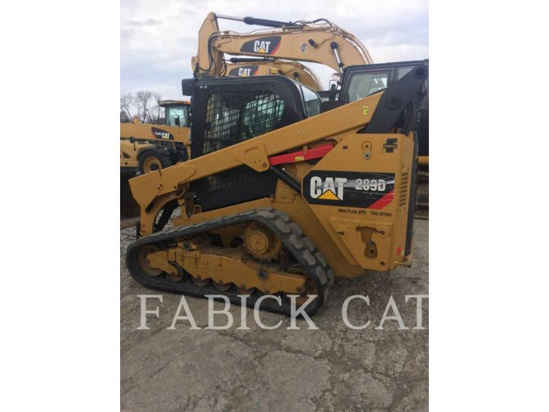 CATERPILLAR CHARGEURS TOUT TERRAIN 289D C3H3 equipment  photo 2