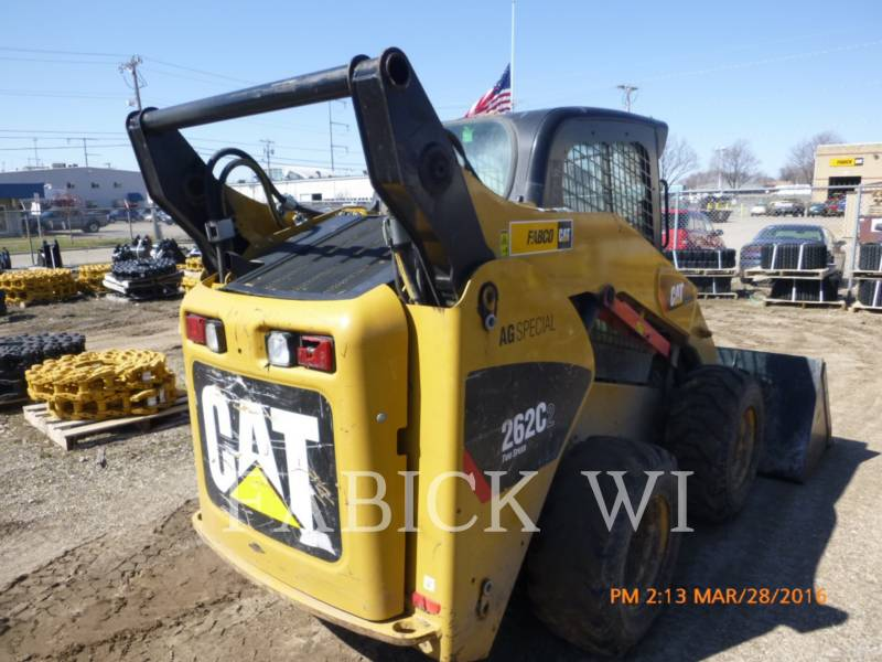 CATERPILLAR KOMPAKTLADER 262C2 equipment  photo 4