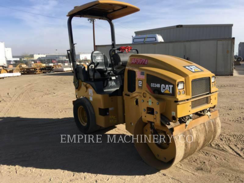 CATERPILLAR コンビネーション・ローラ CC34B equipment  photo 1