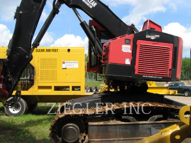 TIMBERPRO FORESTRY - FELLER BUNCHERS - TRACK TL735B equipment  photo 1