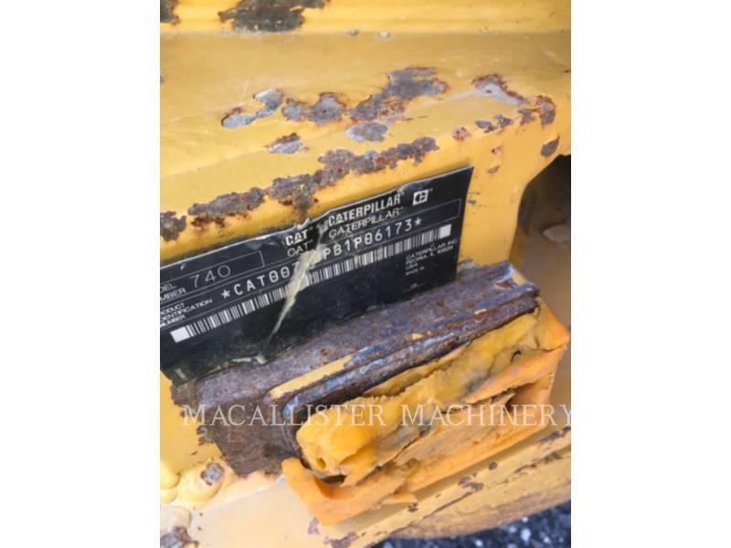 CATERPILLAR アーティキュレートトラック 740 equipment  photo 3