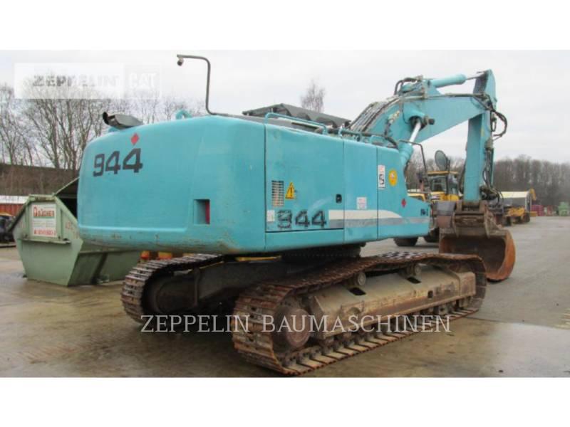LIEBHERR KOPARKI GĄSIENICOWE R944C LITR equipment  photo 3