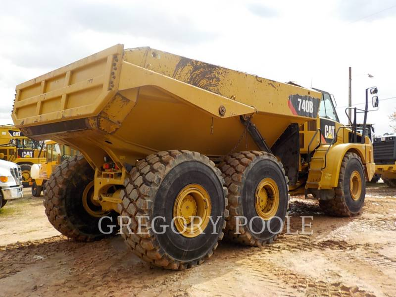 Caterpillar CAMIOANE ARTICULATE 740B equipment  photo 9