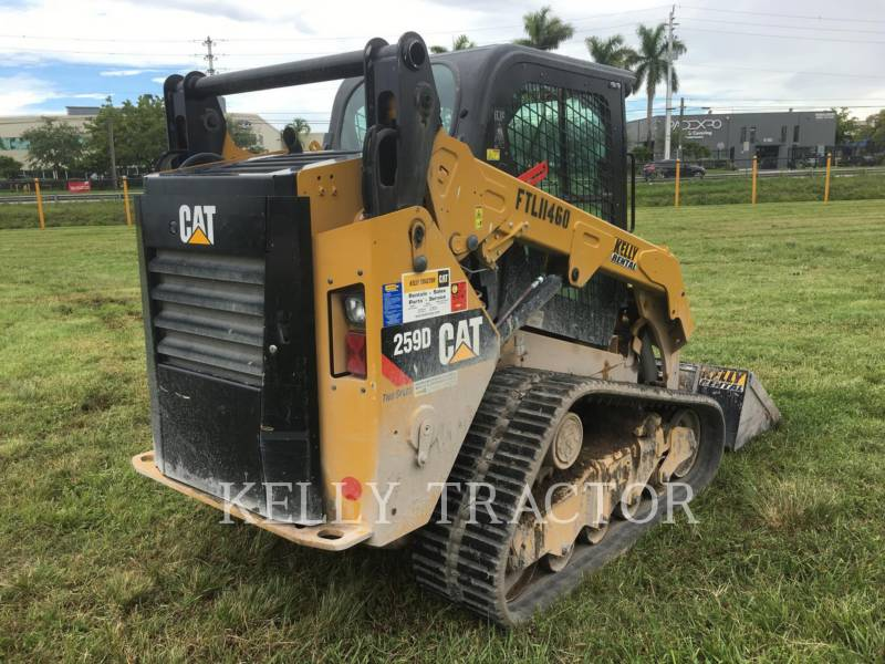 CATERPILLAR PALE CINGOLATE MULTI TERRAIN 259 D equipment  photo 3
