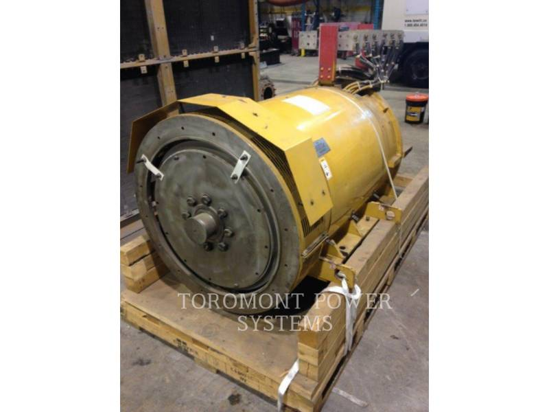 CATERPILLAR SYSTEMS COMPONENTS SR4B 910KW PRIME 600 VOLTS equipment  photo 1