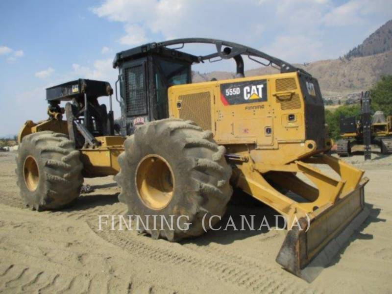 CATERPILLAR FORESTAL - ARRASTRADOR DE TRONCOS 555D equipment  photo 2