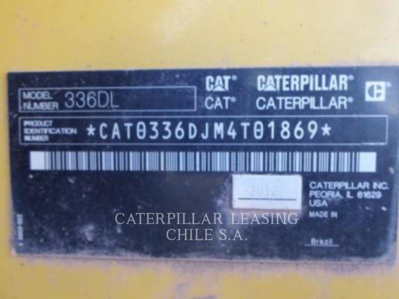 CATERPILLAR PELLES SUR CHAINES 336DL equipment  photo 11
