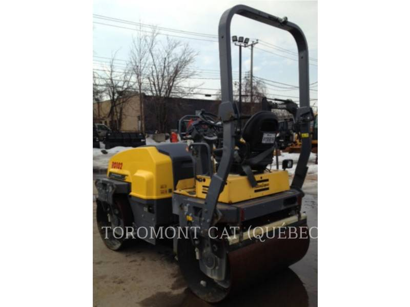 ATLAS-COPCO VIBRATORY DOUBLE DRUM ASPHALT CC1300 equipment  photo 3