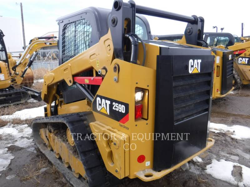CATERPILLAR CHARGEURS COMPACTS RIGIDES 259D H2CB equipment  photo 6