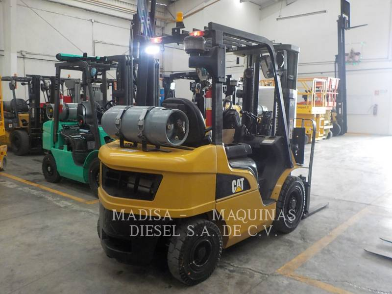 CATERPILLAR MITSUBISHI FORKLIFTS 2P5000GLP  equipment  photo 6