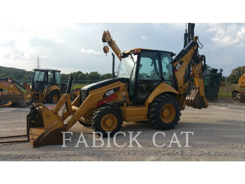Caterpillar BULDOEXCAVATOARE 420E HT equipment  photo 4