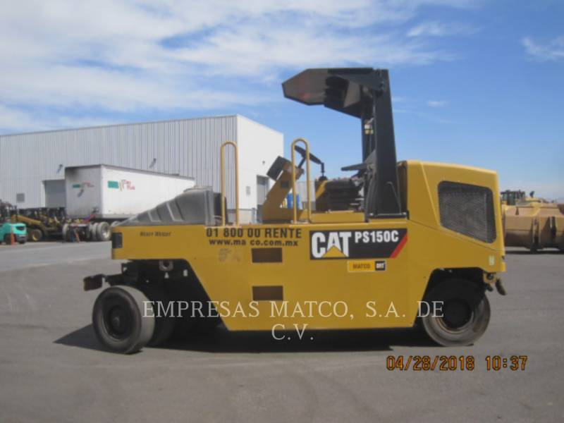 CATERPILLAR COMPATTATORI GOMMATI PNEUMATICI PS-150C equipment  photo 3