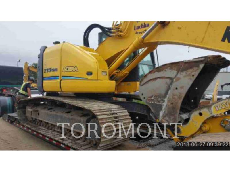 KOBELCO / KOBE STEEL LTD TRACK EXCAVATORS SK215SR equipment  photo 1