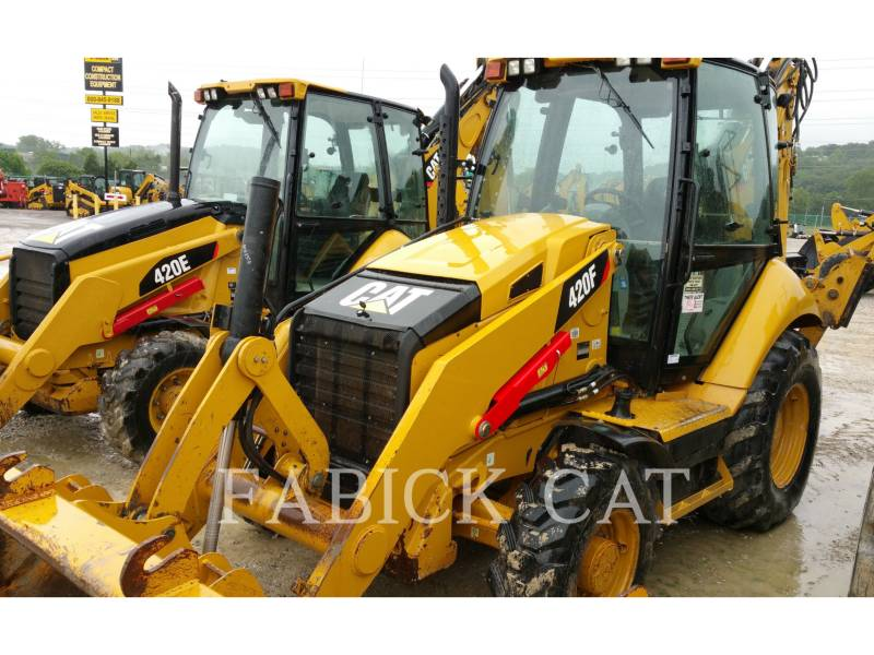 CATERPILLAR バックホーローダ 420F HT equipment  photo 4