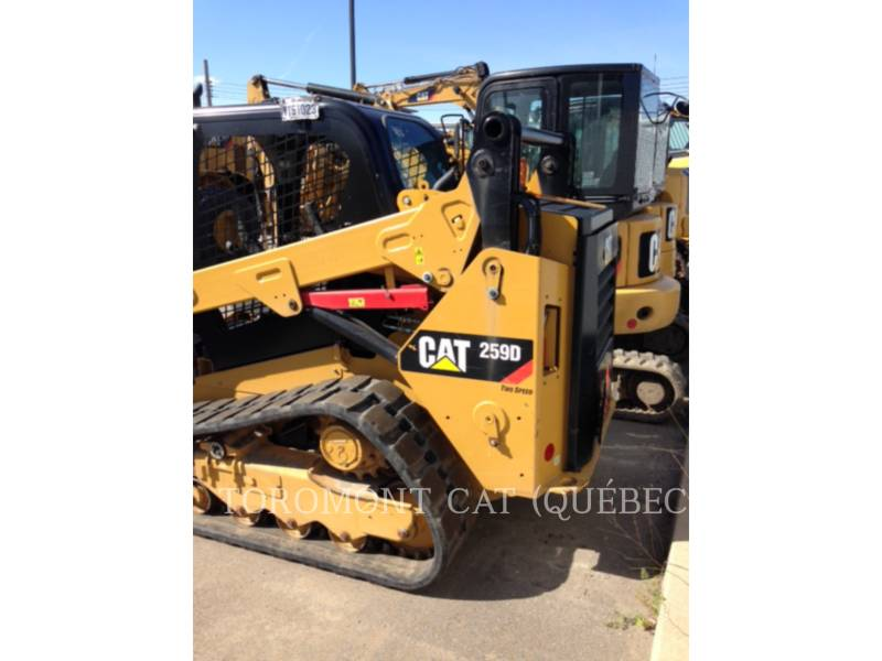 CATERPILLAR CHARGEURS SUR CHAINES 259D equipment  photo 2