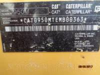 CATERPILLAR CARGADORES DE RUEDAS 950M equipment  photo 23