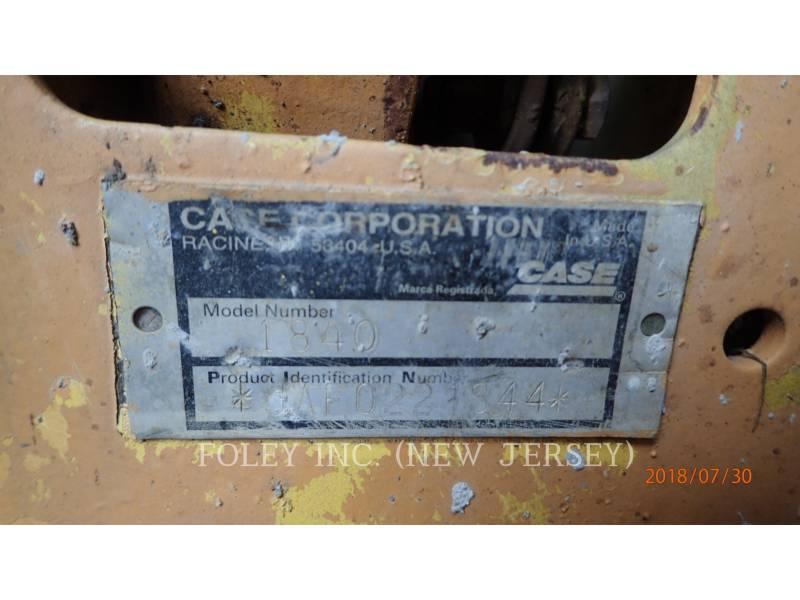 CASE MINICARGADORAS 1840 equipment  photo 8