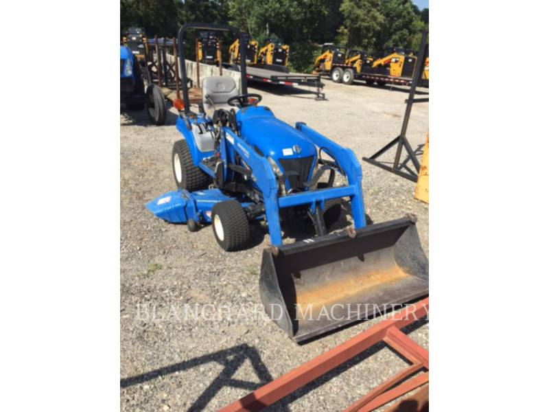 NEW HOLLAND LTD. AG TRACTORS TZ22DA equipment  photo 1