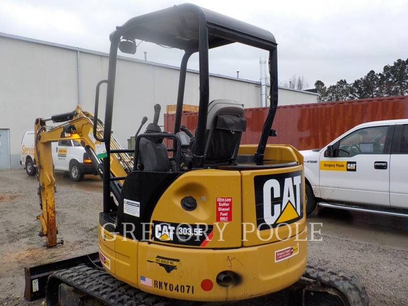 CATERPILLAR PELLES SUR CHAINES 303.5E CR equipment  photo 9