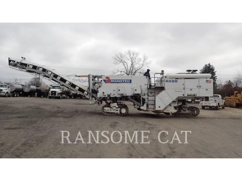 ROADTEC WT - COLD PLANER RX68B equipment  photo 2