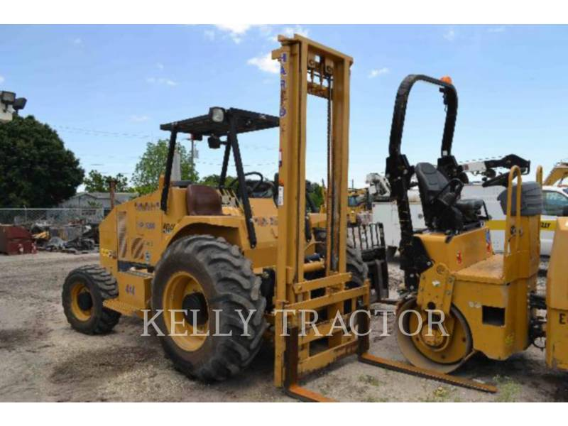 HARLO PRODUCTS CORP FORKLIFTS HP5000 equipment  photo 1