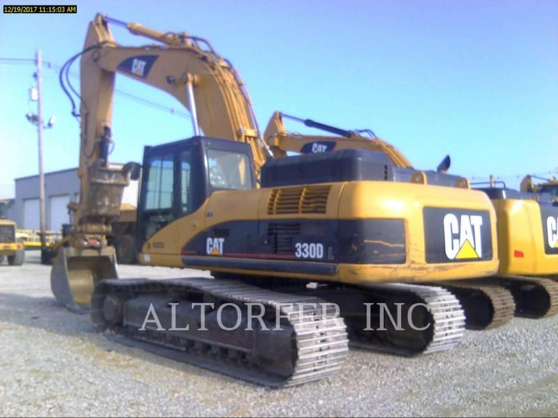 CATERPILLAR TRACK EXCAVATORS 330DL TH equipment  photo 1