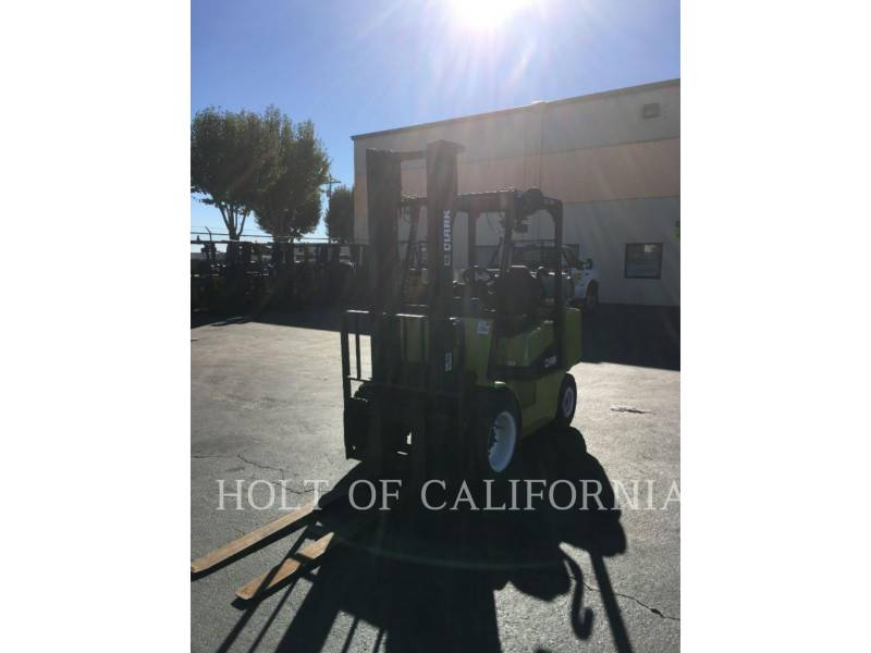 CLARK EQUIPMENT FORKLIFTS CGP30 equipment  photo 4