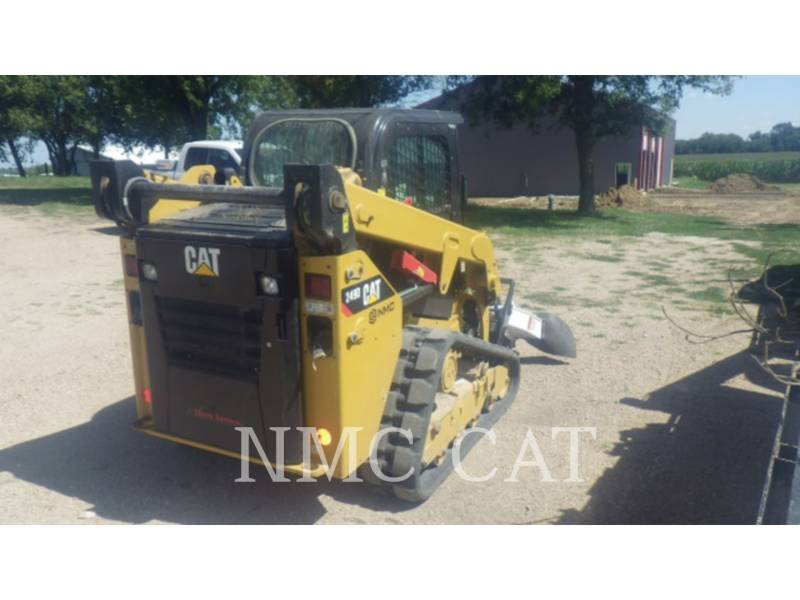 CATERPILLAR CARGADORES MULTITERRENO 249D equipment  photo 3