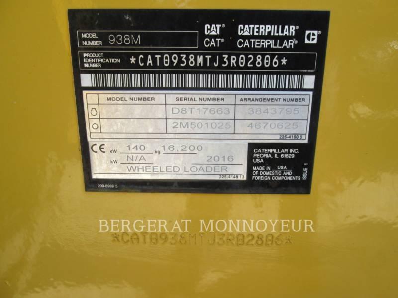 Caterpillar ÎNCĂRCĂTOARE PE ROŢI/PORTSCULE INTEGRATE 938M equipment  photo 19