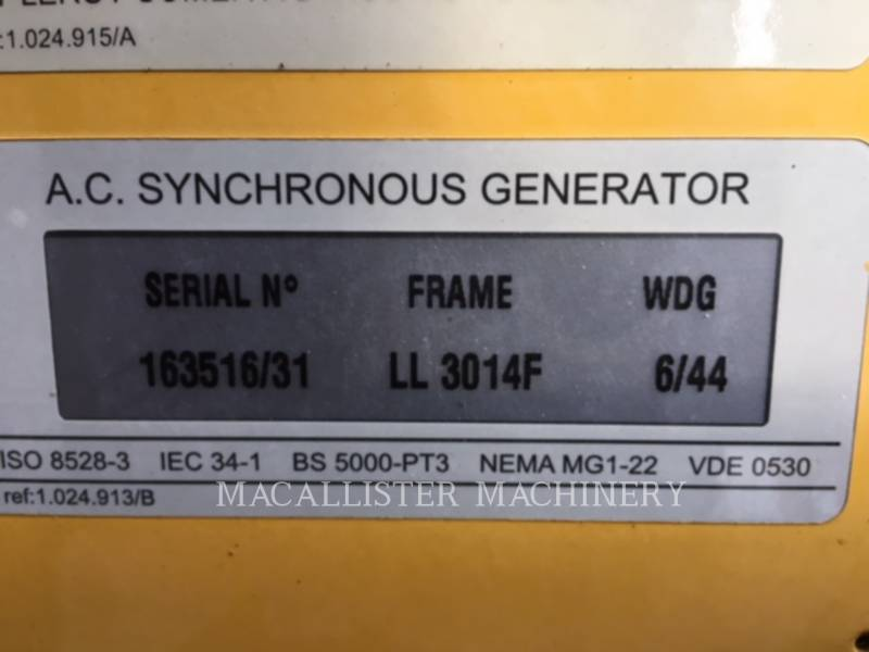 OLYMPIAN STATIONARY GENERATOR SETS D125P1 equipment  photo 11
