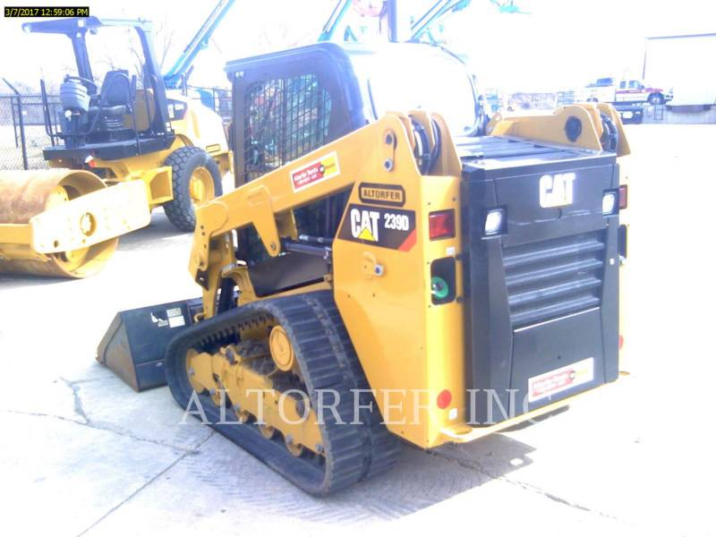 CATERPILLAR 多様地形対応ローダ 239D equipment  photo 4