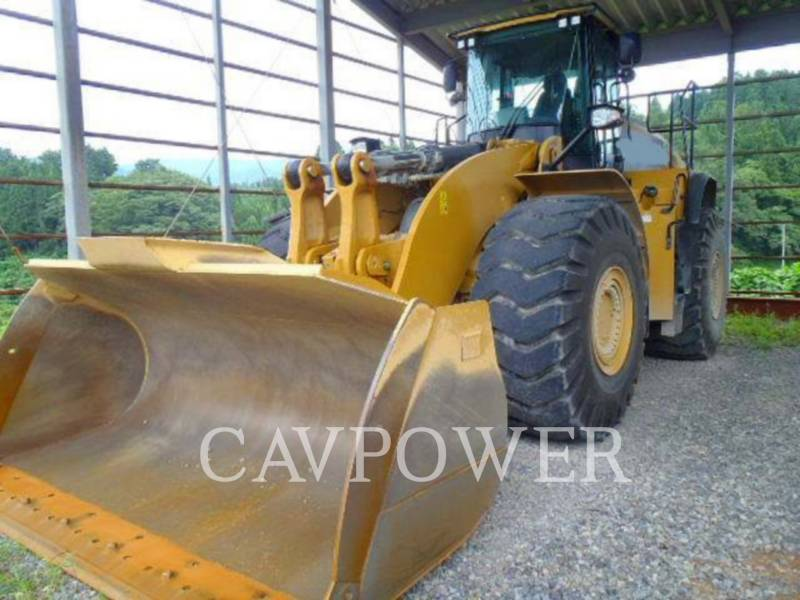 CATERPILLAR CARGADORES DE RUEDAS 980K equipment  photo 1