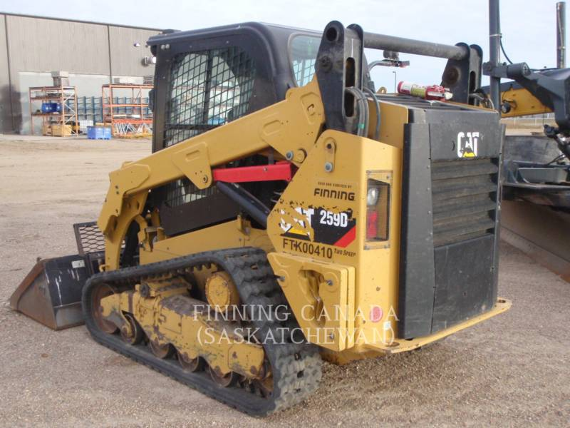 CATERPILLAR CARGADORES MULTITERRENO 259D LRC equipment  photo 5