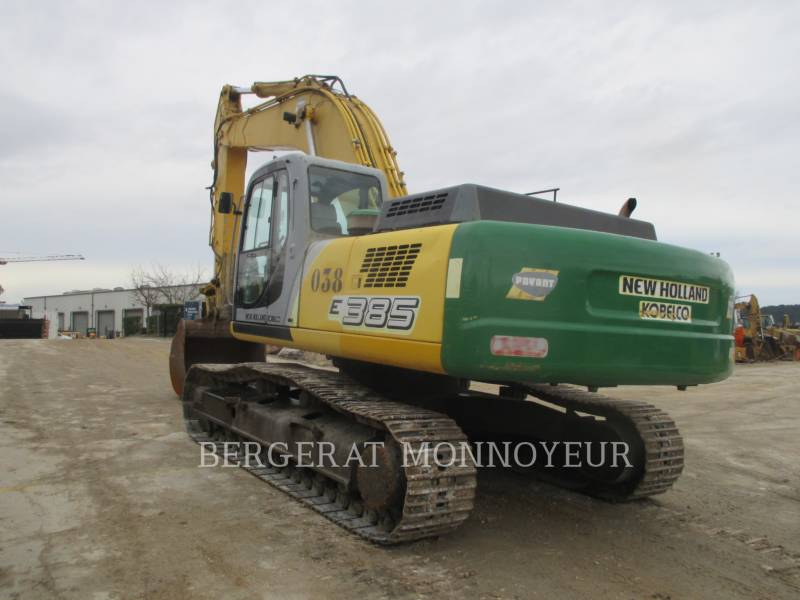 NEW HOLLAND KETTEN-HYDRAULIKBAGGER E385 equipment  photo 2