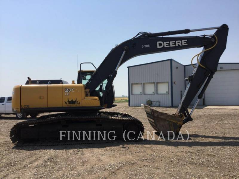 JOHN DEERE TRACK EXCAVATORS 270D LC equipment  photo 3