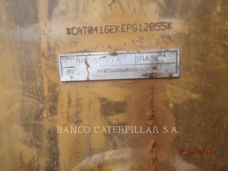Caterpillar BULDOEXCAVATOARE 416EST equipment  photo 6