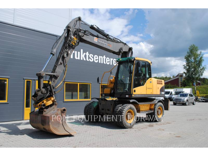 VOLVO CONSTRUCTION EQUIP BRASIL WHEEL EXCAVATORS EW 160 C equipment  photo 2