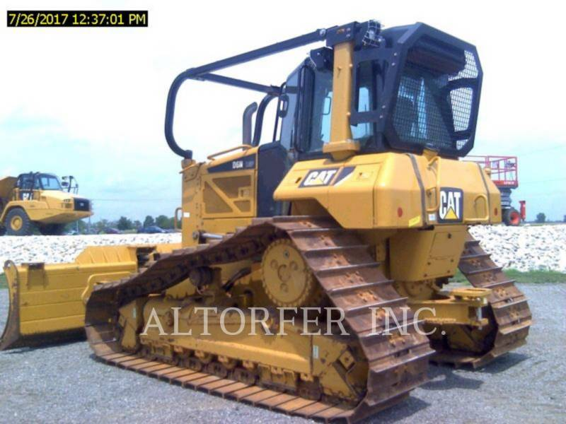 CATERPILLAR TRACK TYPE TRACTORS D6N LGP equipment  photo 2