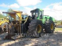 Equipment photo JOHN DEERE 843J WFELLER FORESTRY - FELLER BUNCHERS - WHEEL 1