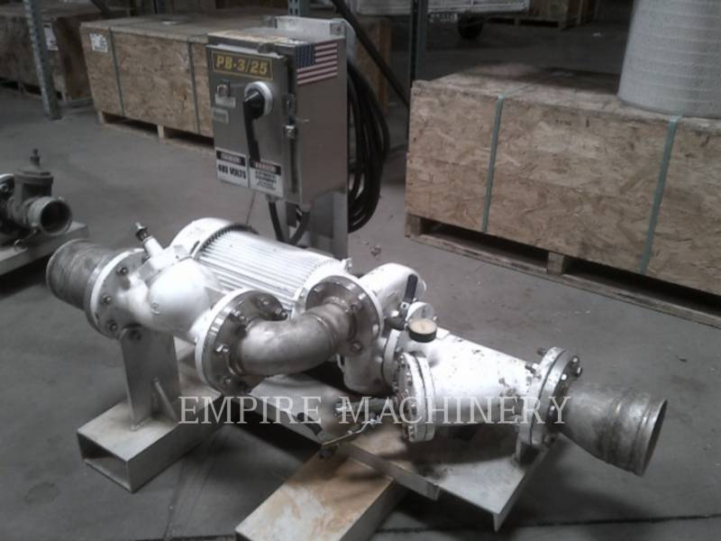 MISC - ENG DIVISION HVAC : CHAUFFAGE, VENTILATION, CLIMATISATION (OBS) PUMP 25HP equipment  photo 6