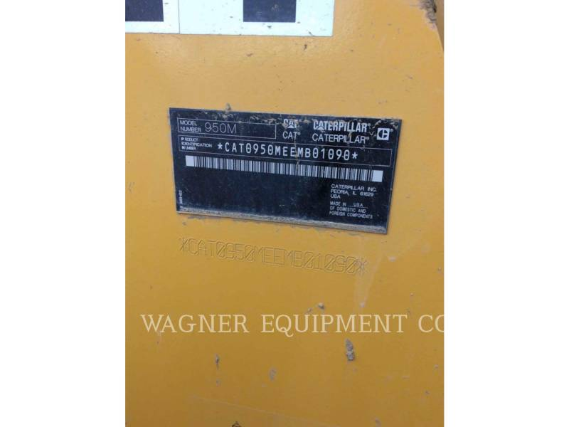 CATERPILLAR CARGADORES DE RUEDAS 950M FC equipment  photo 1