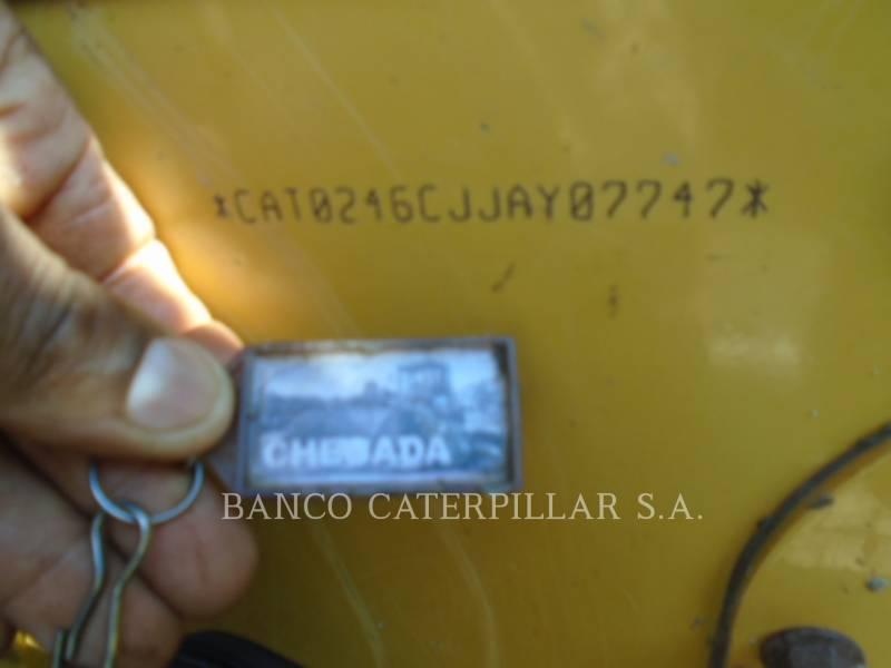 CATERPILLAR MINICARGADORAS 246C equipment  photo 5