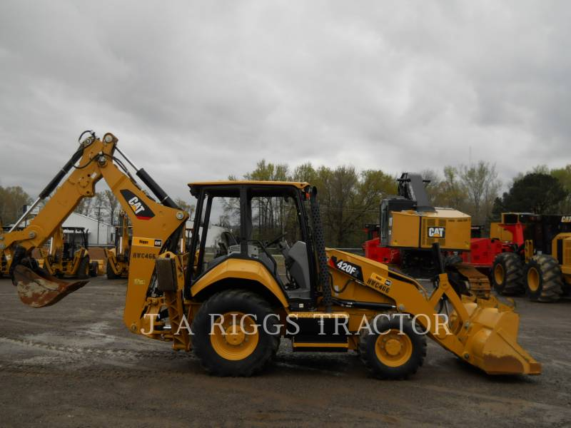 CATERPILLAR KOPARKO-ŁADOWARKI 420F2ST equipment  photo 6
